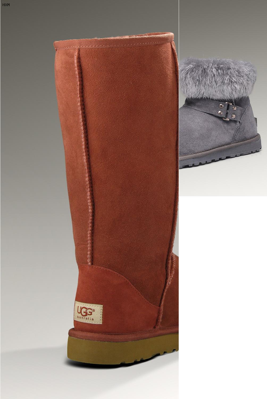 boots ugg noires