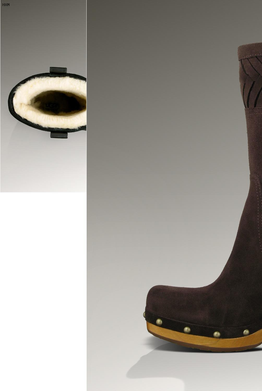 bottes imitation ugg avec noeud