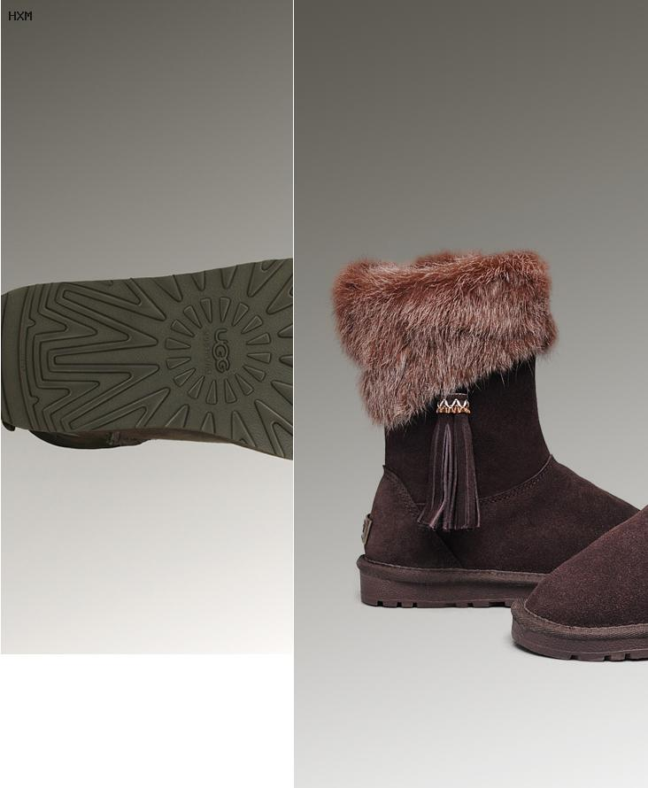 ugg boots bailey button beige